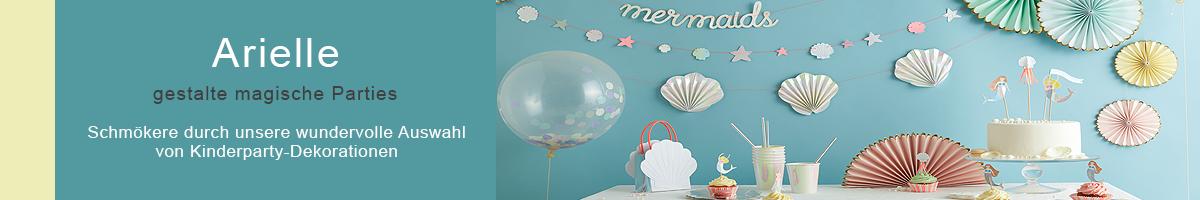 Arielle Meerjungfrau Party