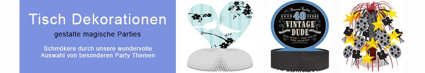 tisch dekorationen dekorationen erwachsenen party. Black Bedroom Furniture Sets. Home Design Ideas