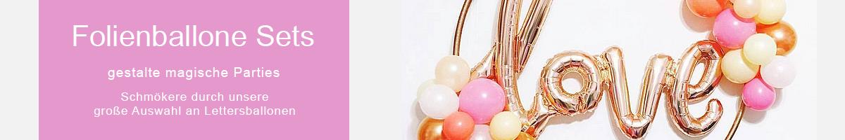 Folienballone Sets