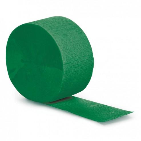 Krepprollen grün 24,6m