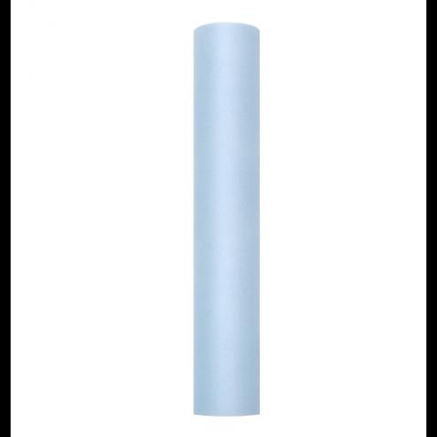 Tischläufer aus Tüll blau 30cm x 9m