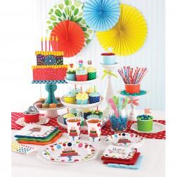 Partybox für 8 Gäste Happy Birthday