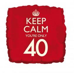 Folienballon Keep Calm 40