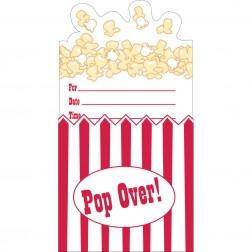 Einladungskarten Pop Over 8 Stück