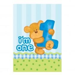 Tüten Bears Boy 8Stück