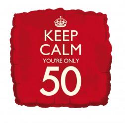 Folienballon Keep Calm 50
