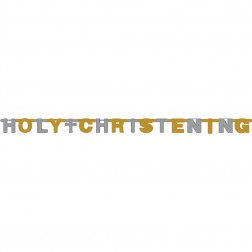 Banner Holly Christening 11 x 168cm