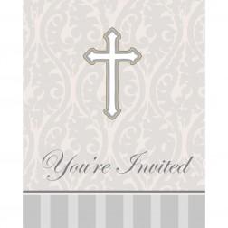 Einladungskarten Erstkommunion 8 Stück