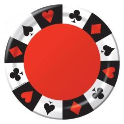 Poker Party - 8 Teller
