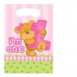 Tüten Bears Girl 8Stück