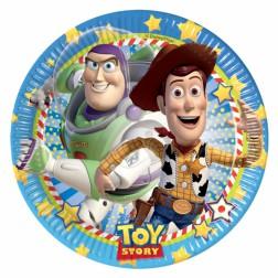 Toy Story Pappteller 10 Stück