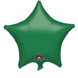 Stern Folienballon Grün 48cm