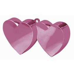 Ballon Gewicht - Pink Zweier Herz