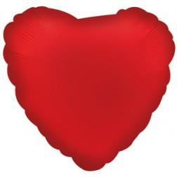 Herz Folienballon Rot 45cm