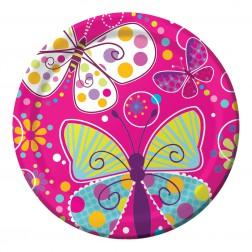 Pappteller Schmetterling 8 Stück