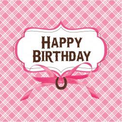 Servietten Pferde Happy Birthday 16 Stück