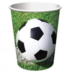 Becher Fußball 8 Stück