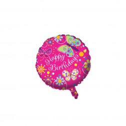 Folien Ballon Schmetterling 45cm