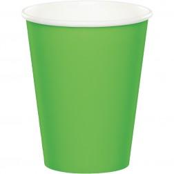 Pappbecher Grün 8Stück