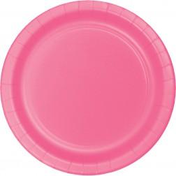 Pappteller Pink 8 Stück