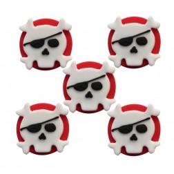 Zuckerdekor Piraten 5Stück