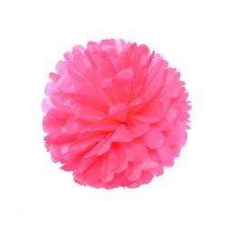 Pom Pom Hot Pink 35cm