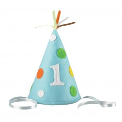 Partyhut Blau 1.Geburtstag