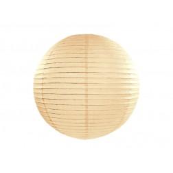 Papier Lampion creme 25cm