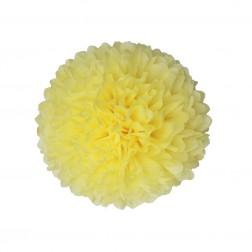 Pom Pom Pastellgelb 35cm