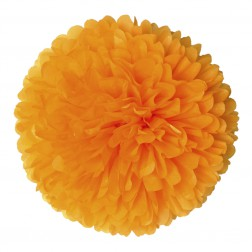 Pom Pom Orange 50cm