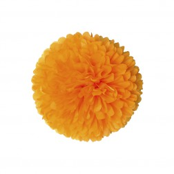 Pom Pom Orange 35cm