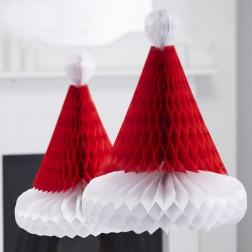Waben Santa Hüte 2Stück