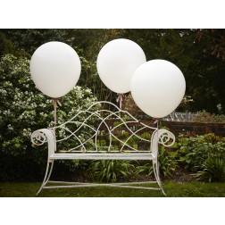 Riesenballone Weiß 3 Stück je 91cm