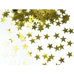 Konfetti Sterne Gold 30g