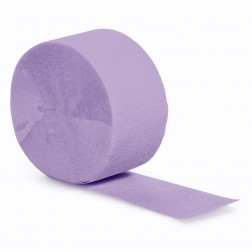 Krepprollen Lavendel 24,6m