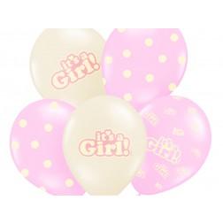 Ballone It\'s a Girl 6Stück