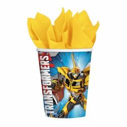 Transformers Pappbecher 8Stück