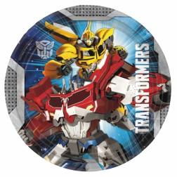 Transformers Pappteller 8Stück