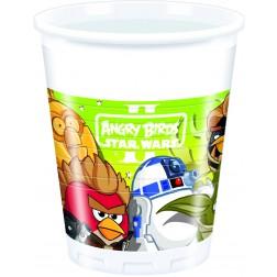 Angry Bird Star Wars Plastikbecher 8Stück