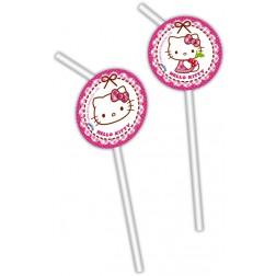Hello Kitty Trinkhalme 6 Stück