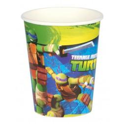 Ninja Turtles Pappbecher 8 Stück