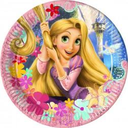 Rapunzel Pappteller 10 Stück