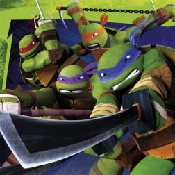 Ninja Turtles Servietten 20 Stück