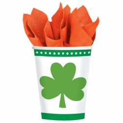 St. Patricks Day Pappbecher 8 Stück