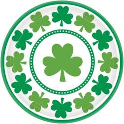 St. Patricks Day kleine Pappteller 8 Stück