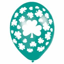St. Patricks Day Luftballons 6 Stück