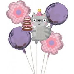 Folien Ballon Woodland Girl 5 teilig