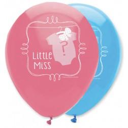 Luftballons Little Miss or Little Man 6 Stück