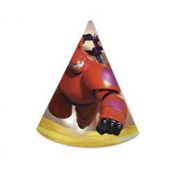 Big Hero 6 Partyhüte 6 Stück