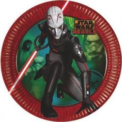 Star Wars Rebels Pappteller 8 Stück